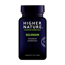 Higher Nature True Food Selenium - 60 x 200mcg Tablets