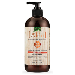A kin Orange Blossom Body Wash - Invigorate & Energise - 500ml