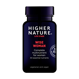 Higher Nature True Food Wise Woman - 90 Vegicaps