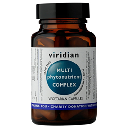 Viridian Multi-PhytoNutrient Multivitamin Complex - 30 Vegicaps