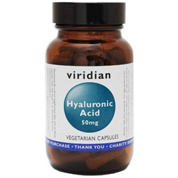 Viridian Hyaluronic Acid - 30 x 50mg Vegicaps