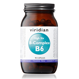 Viridian High Six B-Complex - 90 Vegicaps