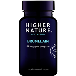 Higher Nature Bromelain - Digestive Enzyme - 90 x 300mg Vegicaps