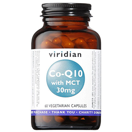 Viridian Co-Enzyme Q10 with MCT - 60 x 30mg Vegicaps