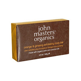John Masters Organics Orange & Ginseng Exfoliating Body Bar  -128g