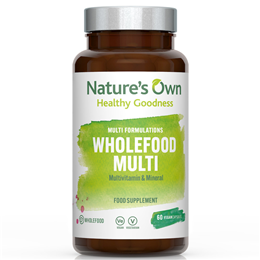 Natures Own Wholefood Multi - Multi Vitamin and Mineral - 60 Vegicaps
