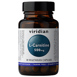 Viridian L-Carnitine 30 x 500mg Vegicaps