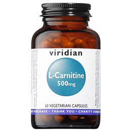Viridian L-Carnitine - 60 x 500mg Vegicaps