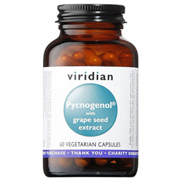 Viridian Pycnogenol and Grape Seed Extract  - 60 Vegicaps