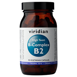 Viridian High Two Vitamin B2 with B-Complex - 90 Vegicaps