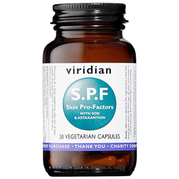 Viridian S.P.F. Skin Pro-Factors - 30 Vegicaps
