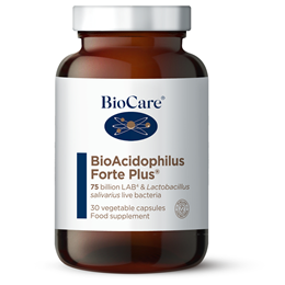 BioCare Bio Acidophilus Forte Plus - 75 Billion Probiotic - 30 Vegicaps