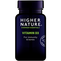 Higher Nature Vitamin D3 - 500iu- 120 Capsules