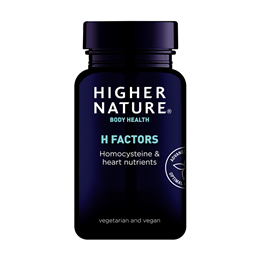 Higher Nature H Factors Homocysteine & Heart Nutrients - 60 Vegicaps