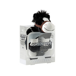 Aroma Home Screen Wipe - Horse - Black and White