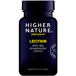 Higher Nature Lecithin with Phosphatidyl Choline - 150g Granules