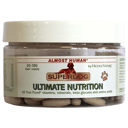 Almost Human SuperDog Ultimate Nutrition - For Dogs - 90 Tablets