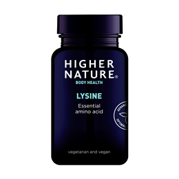 Higher Nature Lysine - 90 x 500mg Tablets