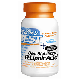 Doctors Best Stabilised R-Lipoic Acid - 180 x 100mg Vegicaps