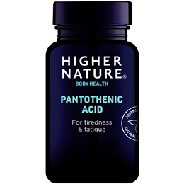 Higher Nature Pantothenic Acid - Vitamin B5 - 60 Capsules