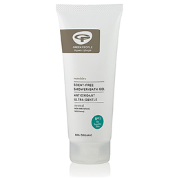 Green People Scent-Free Shower/Bath Gel - 200ml