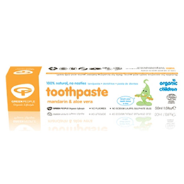 Green People Children Mandarin & Aloe Vera Toothpaste - 50ml