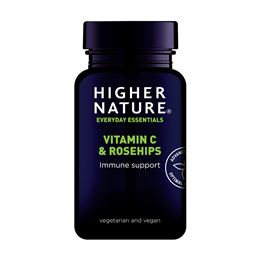 Higher Nature Rosehips C with Vitamin C - 180 Tablets