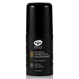 Green People For Men - No.8 Thyme & Prebiotics Roll On Deodorant - 75ml