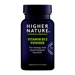 Higher Nature High Potency Vitamin B12 - Sublingual Powder - 30g