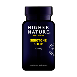 Higher Nature Serotone - 5HTP - 30 x 100mg Vegicaps