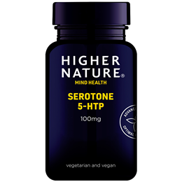 Higher Nature Serotone - 5HTP - 90 x 100mg Vegicaps