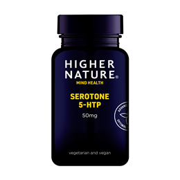 Higher Nature Serotone - 5HTP - 30 x 50mg Vegicaps