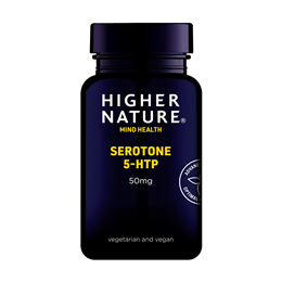 Higher Nature Serotone - 5HTP - 90 x 50mg Vegicaps