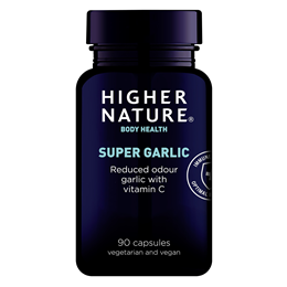 Higher Nature Supergar 8000 - Super Strength Garlic - 90 Tablets