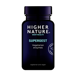 Higher Nature Supergest - Vegetarian Enzymes - 30 Vegicaps