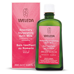 Weleda Rosemary Invigorating Bath Milk - 200ml - Best before date is 30th June 2019