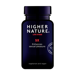 Higher Nature Sx For Great Sex - High Potency Arginine - 180 Vegicaps - Best before date is 31st October 2020