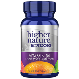 Higher Nature True Food B6 - Vitamin B6 - 90 Tablets