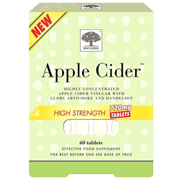 New Nordic Apple Cider High Strength - Apple Cider Vinegar -60 Tablets