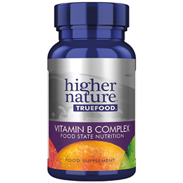 Higher Nature True Food Vitamin B Complex - 30 Tablets