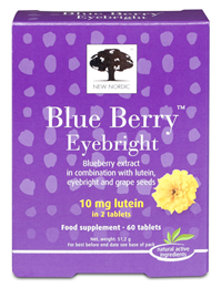 New Nordic Blue Berry Eyebright - Healthy Eyes - 60 Tablets