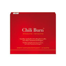 New Nordic Chili Burn - 60 Tablets - Best before date is 28th February 2019