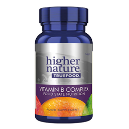 Higher Nature True Food Vitamin B Complex - 90 Tablets