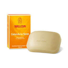 Weleda Calendula Soap - For Sensitive Skin including Children - 100g