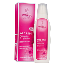 Weleda Wild Rose - Pampering Body Lotion - Normal to Dry Skin - 200ml