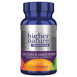 Higher Nature True Food Calcium & Magnesium - 120 Tablets