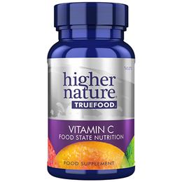 Higher Nature True Food C - Vitamin C - 30 Tablets