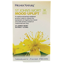 Higher Nature St Johns Wort Mood Uplift - 30 x 425mg Tablets