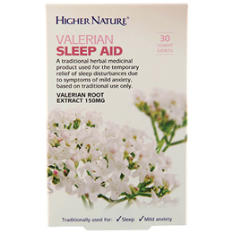 Higher Nature Valerian Sleep Aid - 30 x 150mg Tablets