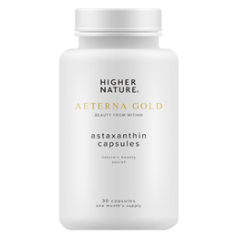 Higher Nature Aeterna Gold AstaPure Beauty - 30 x 4mg Capsules